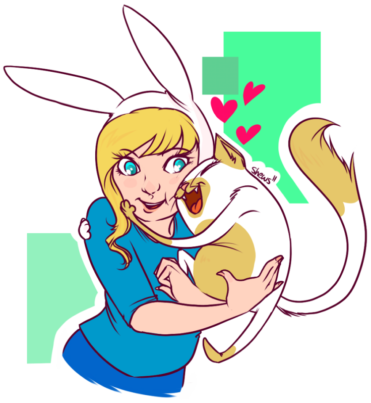 Fionna and Cake by Shews