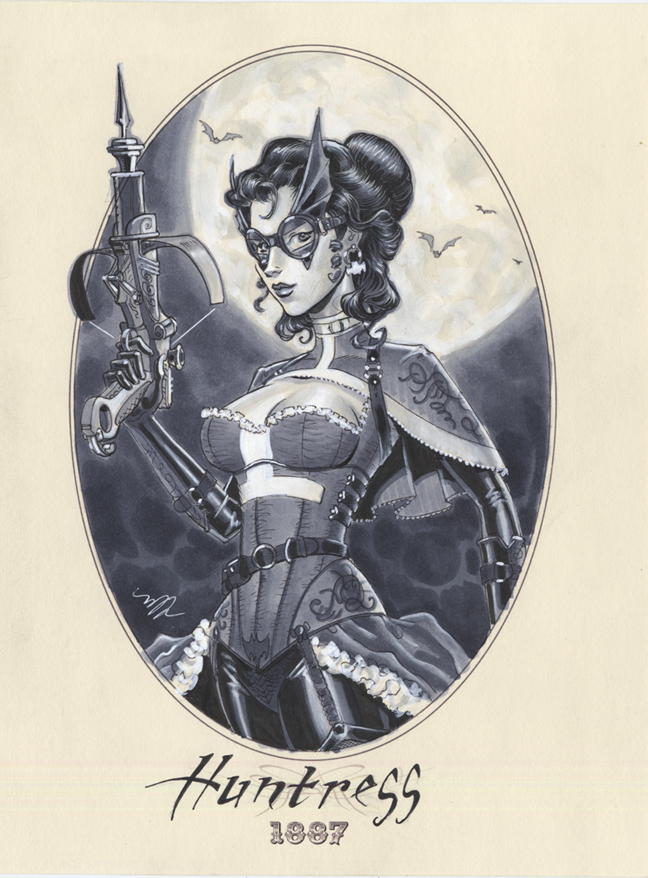 Huntress 1887 by Michael Dooney