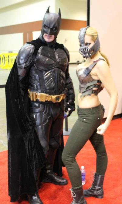 Batman & Genderbend Bane - MegaCon 2013