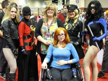 Birds of Prey with Gail - MegaCon 2013