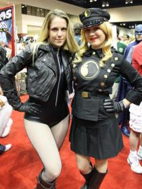 Black Canary & Lady Blackhawk - MegaCon 2013