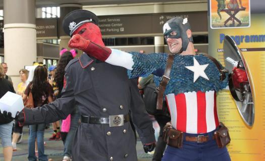 Captain America & Red Skull - MegaCon 2013
