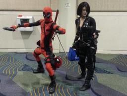 Deadpool & Domino - MegaCon 2013