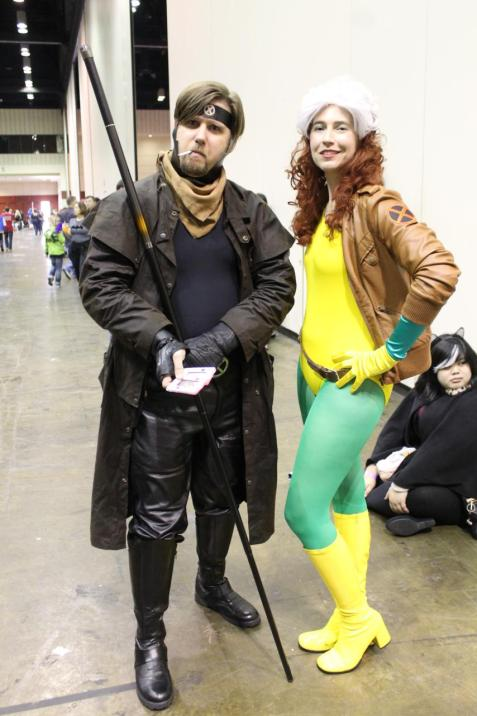 Gambit & Rogue - MegaCon 2013