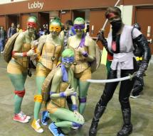 Genderbend Ninja Turtles - MegaCon 2013