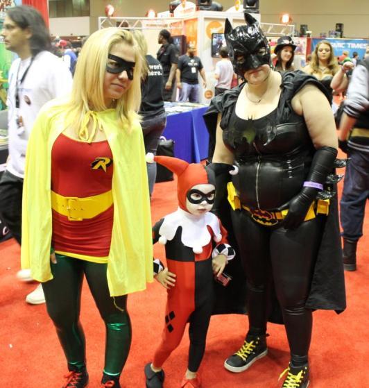 Gotham Girls cosplay - MegaCon 2013