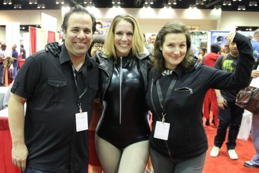 V. with Jimmy Palmiotti & Amanda Conner