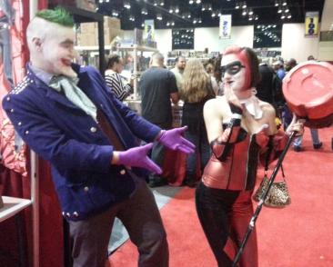 Joker & Harley - MegaCon 2013