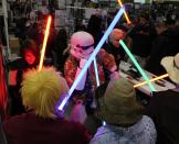 Light Sabers - MegaCon 2013