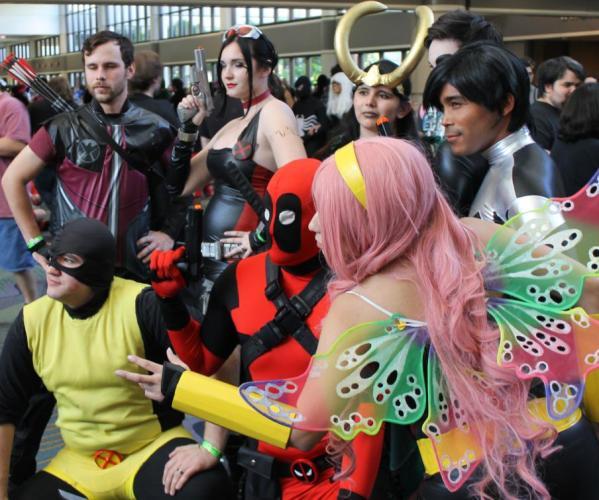 Marvel cosplay - MegaCon 2013