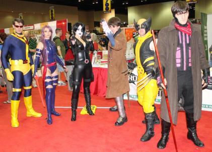 More Marvel cosplay - MegaCon 2013