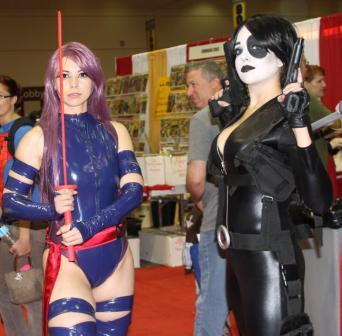 Psylocke & Domino - MegaCon 2013