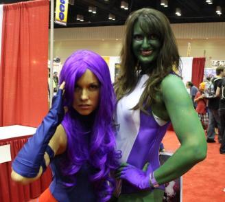 Psylocke & She-Hulk - MegaCon 2013