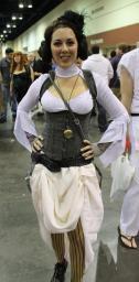 Steampunk Leia - MegaCon 2013