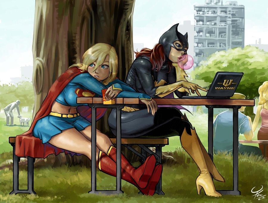 Supergirl & Batgirl