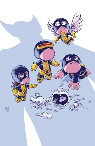 All-New X-Men Babies by Skottie Young