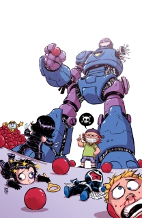 Avengers Arena Babies by Skottie Young