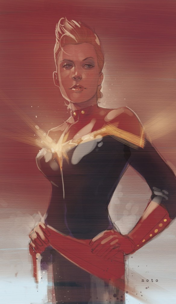 Captain Marvel by Phil Noto