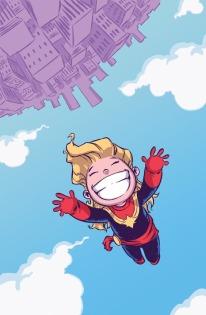 Captain Marvel by Skottie Young