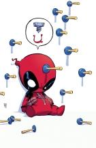 Deadpool Baby by Skottie Young
