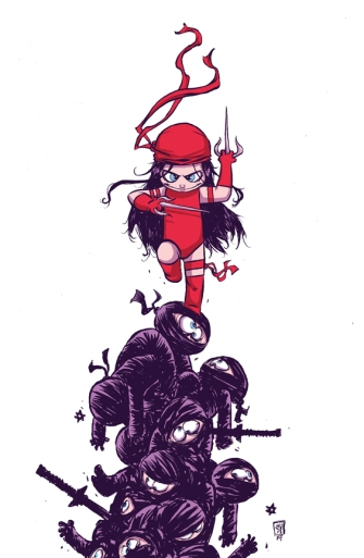 Elektra by Skottie Young