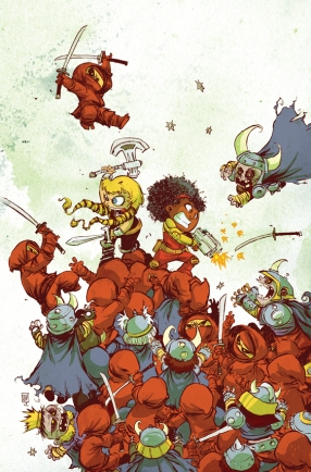 Fearless Defenders Babies by Skottie Young