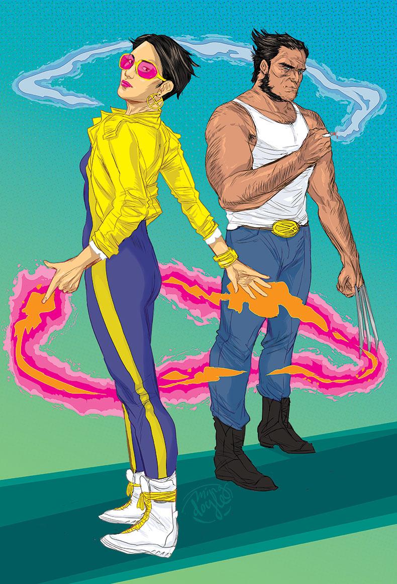 Jubilee & Wolverine