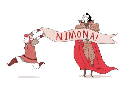 Nimona! by Noelle Stevenson