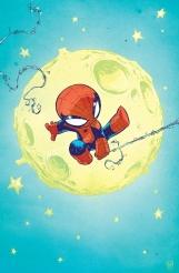 Spider-Man Baby by Skottie Young