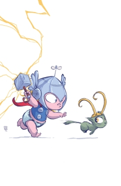 Thor Baby by Skottie Young