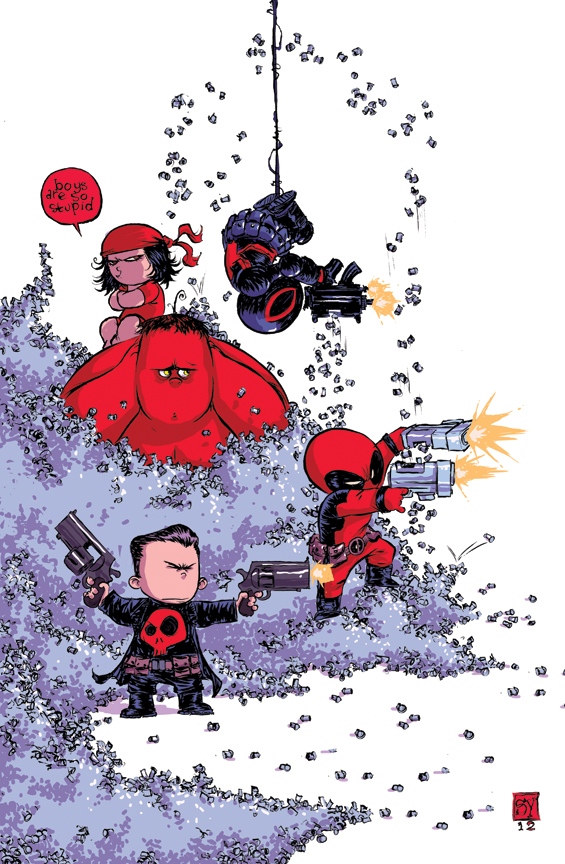 Thunderbolts Babies by Skottie Young