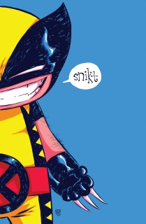 Wolverine Baby by Skottie Young