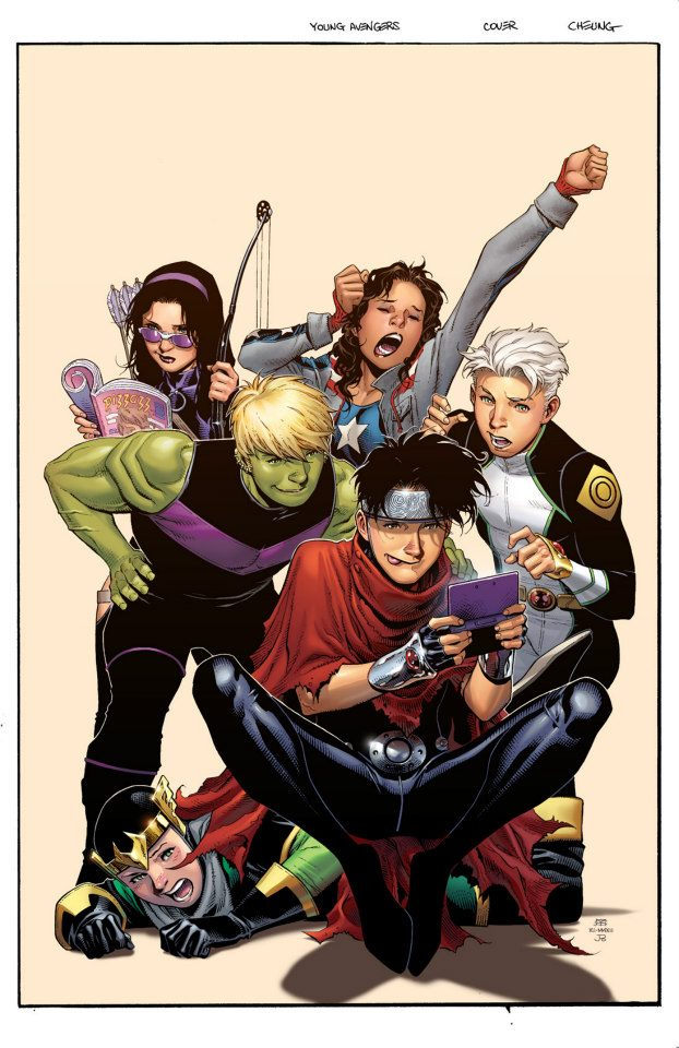V. reviews Batman Incorporated #11 and Young Avengers#5