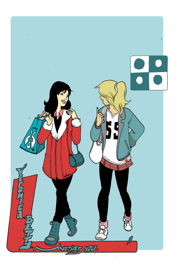 Betty and Veronica by Brandon Graham