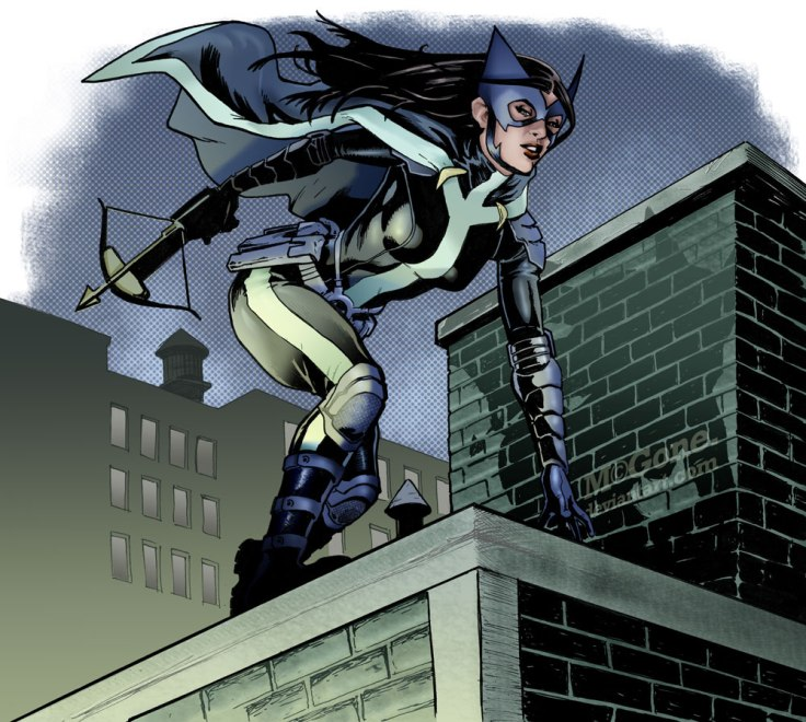 Huntress by Shawn McGuan
