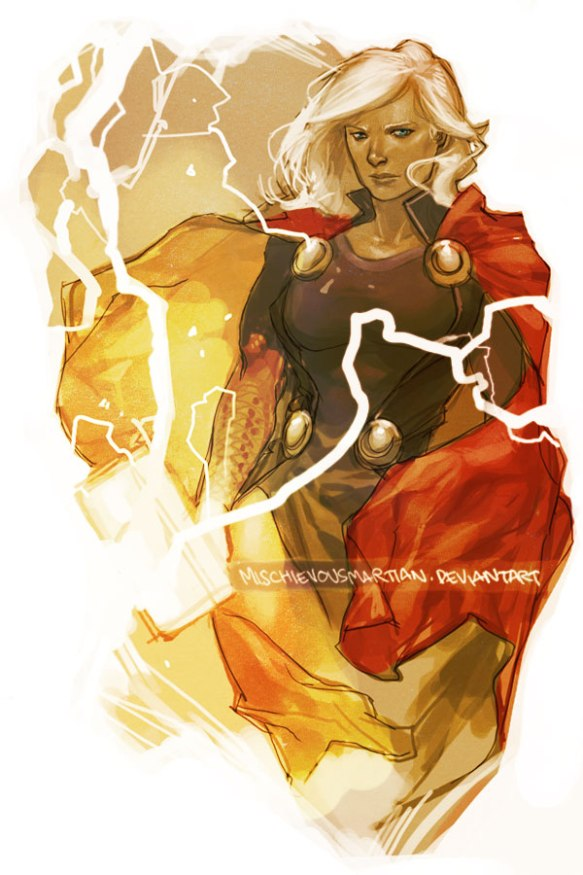 Lady Thor by Yasmine Putri