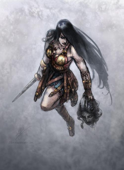 Wonder Woman by K. Feigenbaum