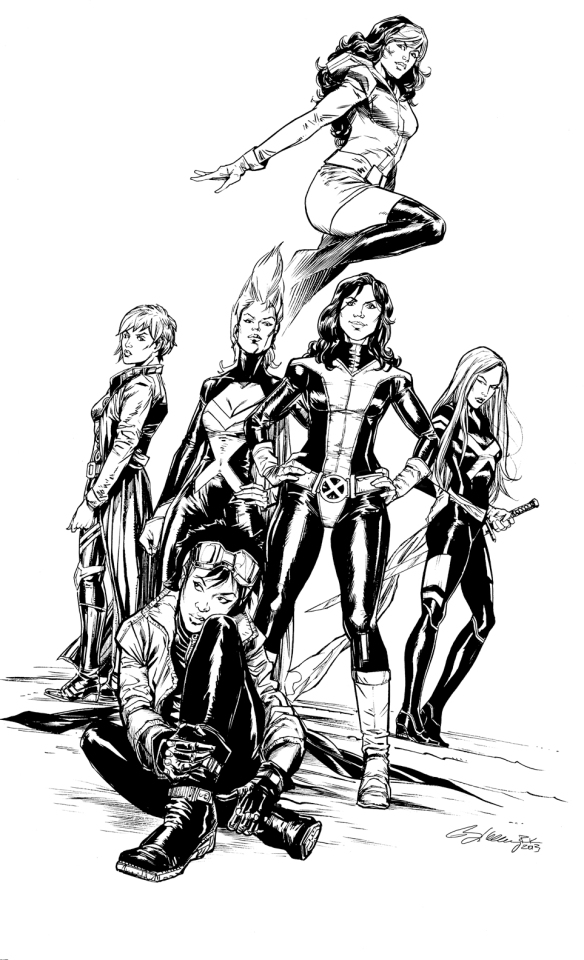 X-Men by Ryan Kelly