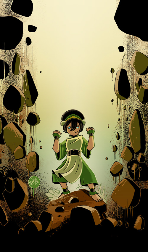 Toph by Mike Maihack