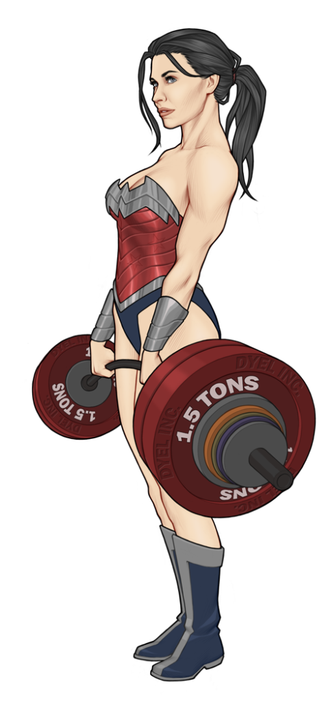 Wonder Woman by Georgel McAwesome