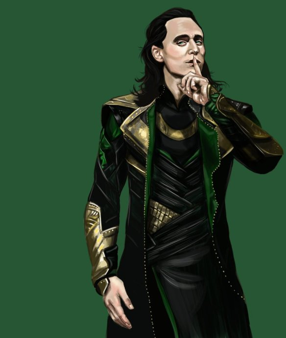 Loki Shh by dragonstomper48