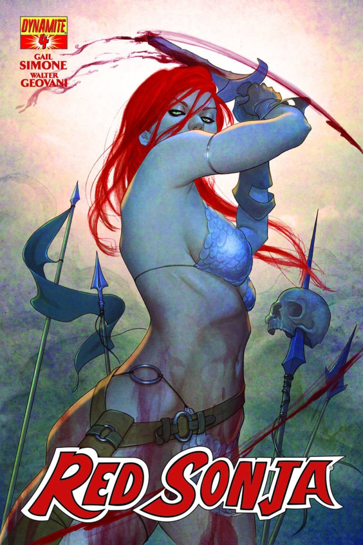 Red Sonja - Gail Simone, Walter Geovanni - Dynamite Entertainment