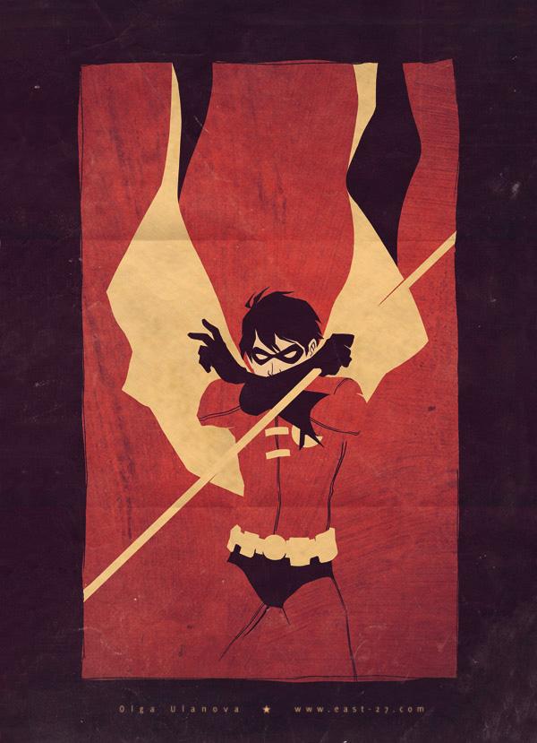 Robin by Olga Ulanova