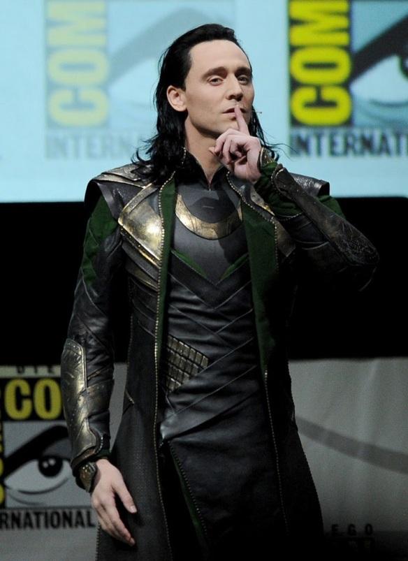 Tom Hiddleston as Loki - SDCC 2013
