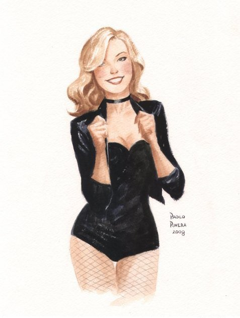 Black Canary by Paolo Rivera