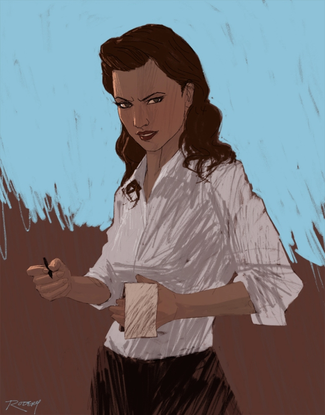 Lois Lane by Clay Rodery