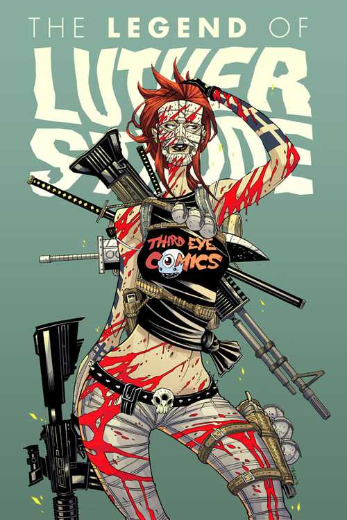 V. reviews The Movement #4 & The Legend of Luther Strode#6