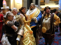 Beauty and the Beast - Dragon Con 2013