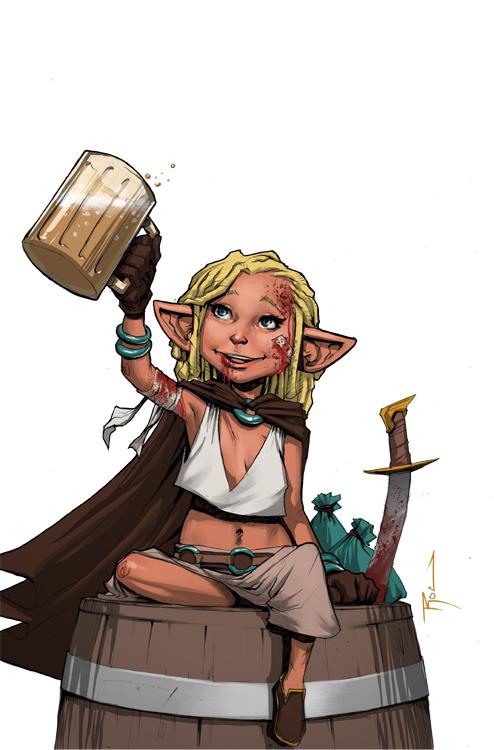 Betty the Hippy Hobbit Thief