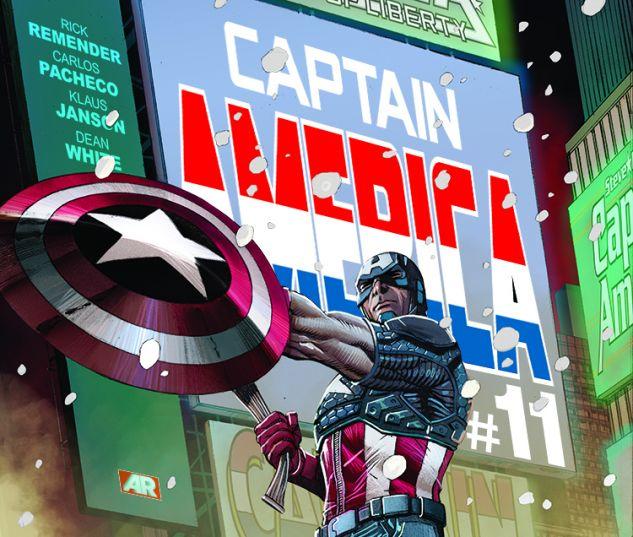 V. reviews Captain America#11